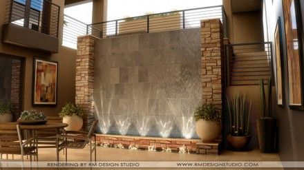 Perfect Water Wall Design For Interior And Exterior Decorating Ideas Interior Water  Wall Design Water Wall Fountain Cool Water Wall Fountain Gr.