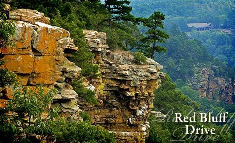 Red Bluff Drive @ Petit Jean State Park - near Mountain ...