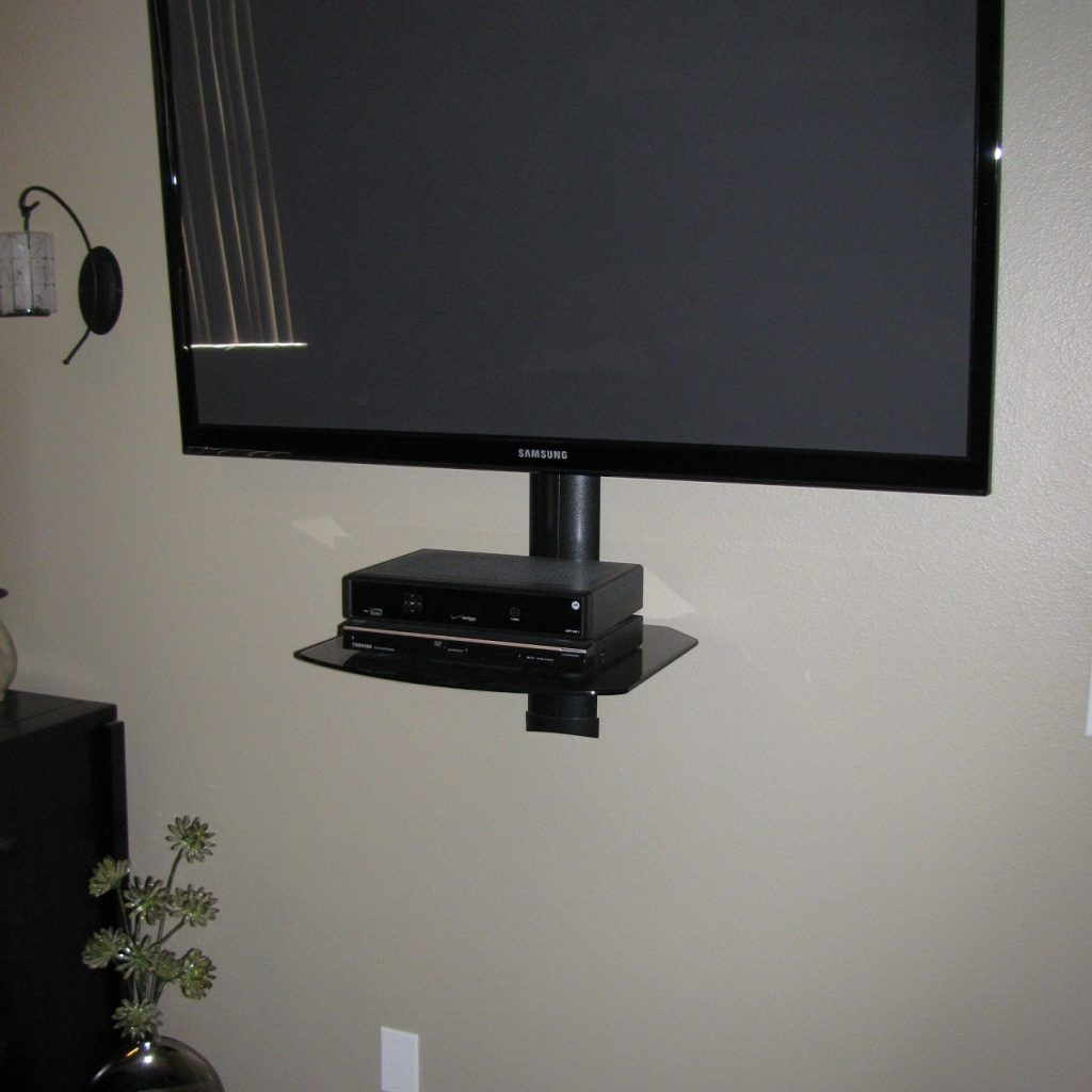 Corner Wall Mount Shelf For Dvd Player