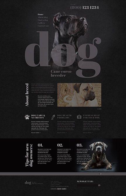 Dog Breeder Template Dog Breeder Template