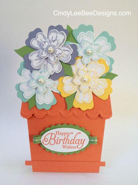 SU Flower Pot Card FM1