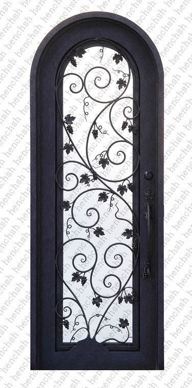 Iron Doors 29 Wrought Iron Doors 8mm Clear Glass 12 Gauge Steel 8mm Rain Glass Fixed Shipping Usa Home Address Wrought Iron Doors Iron Entry Doors Iron Doors