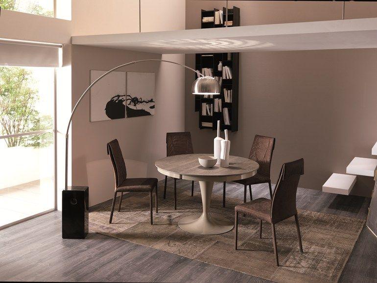 Runder Tisch aus Holz ECLIPSE LEGNO - Ozzio Italia Esstisch