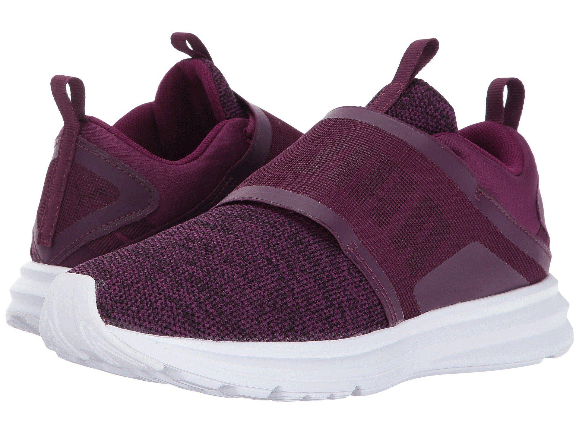 b792e99859aa PUMA Enzo Strap Knit.  puma  shoes   Purple Sneakers