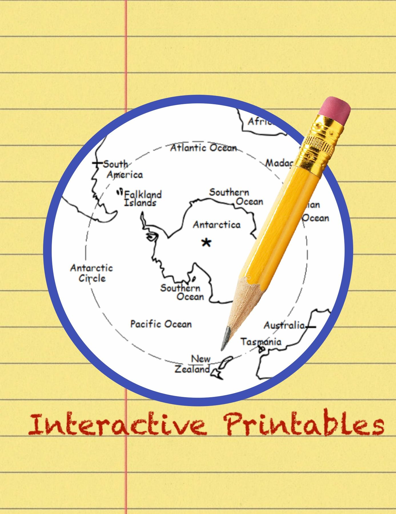 Learn The Countries Of The World With Printable