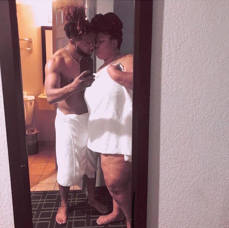 Real Ebony Couple Homemade