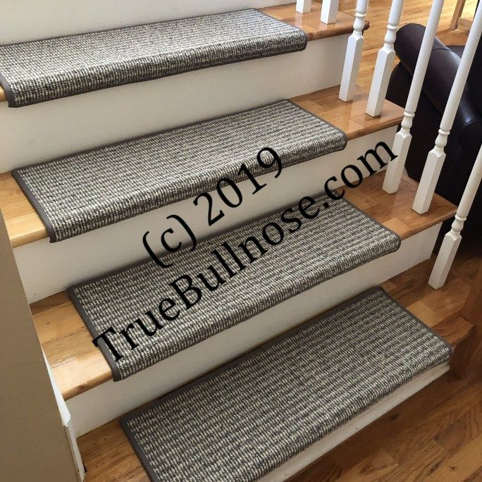 Best Rustic Charm Zinc Heather 100 Wool True Bullnose™ Padded 400 x 300