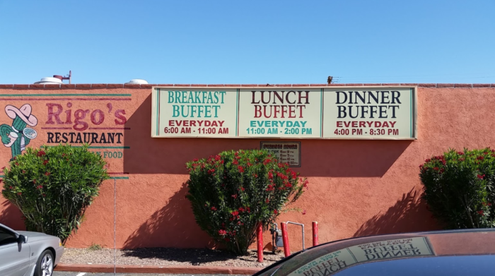 Chow Down At The All You Can Eat Mexican Food Buffet At Rigo S Restaurant In Arizona Mexican Food Buffet Mexican Food Recipes Buffet Food
