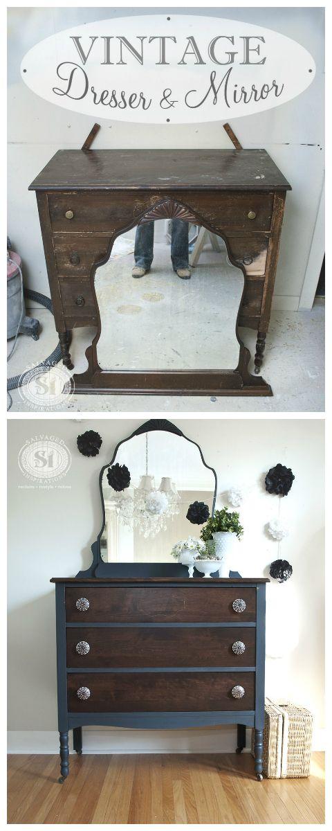 bluestone cottage vintage velvet dresser diy home decor pinterest vintage m bel m bel. Black Bedroom Furniture Sets. Home Design Ideas