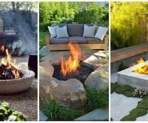 "Photo of Visit our website for more details on ""outdoor fire pit designs"". It is a superb…"