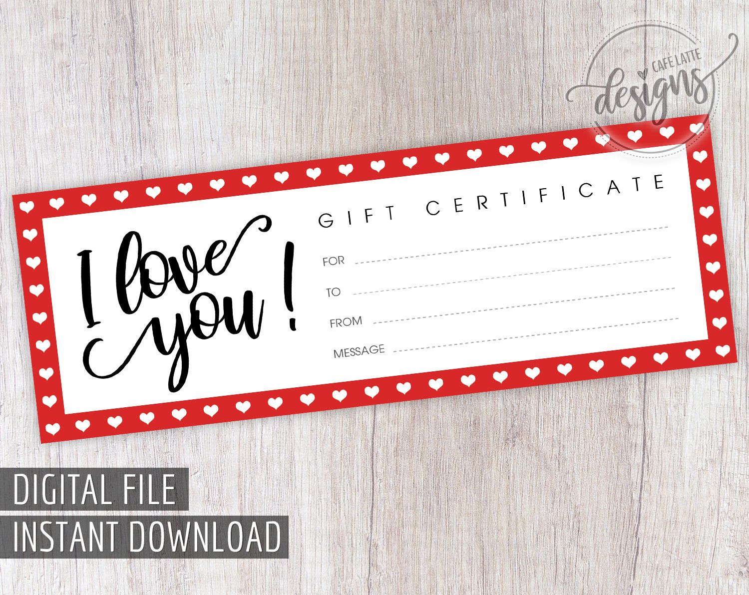 Gift Certificate Printable Mother S Day Christmas Gift Etsy Printable Gift Certificate Birthday Gifts For Grandma Diy Gifts For Mothers