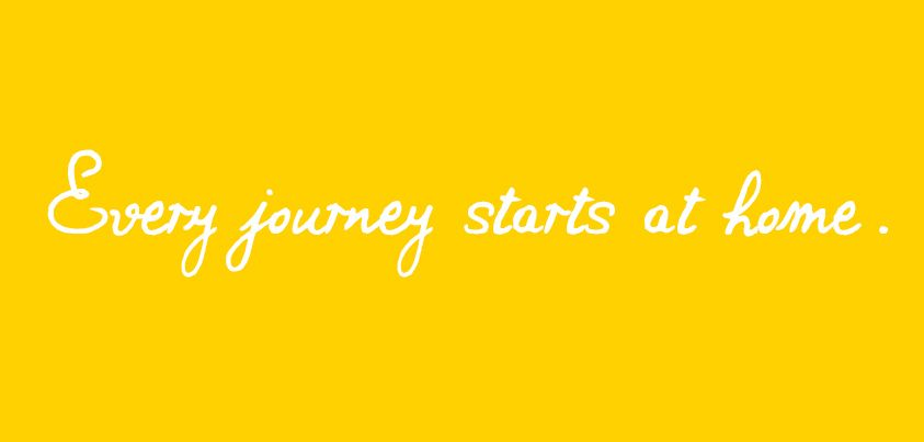 Every journey starts at home. #justawaycom #jusaway #travel #quotes #journey #reisen #urlaub