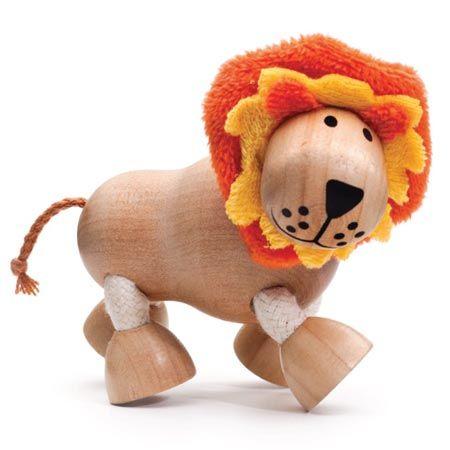Anamalz Wild Baboon Wooden Toy