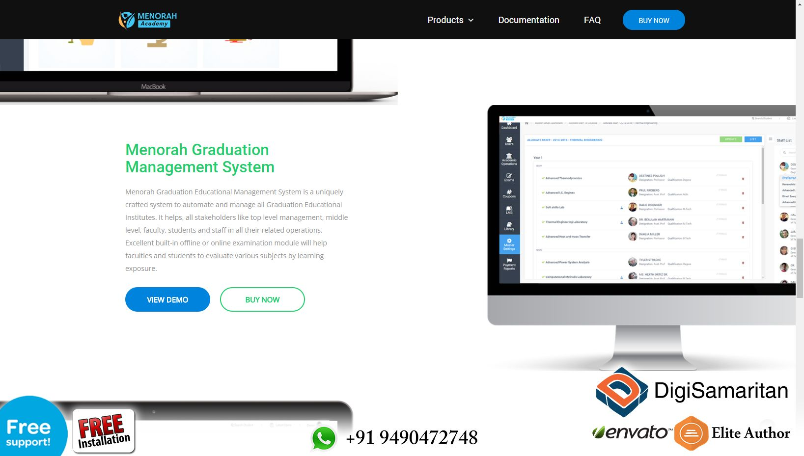 The Next Gen School Management Software Menorah Academy Menorah