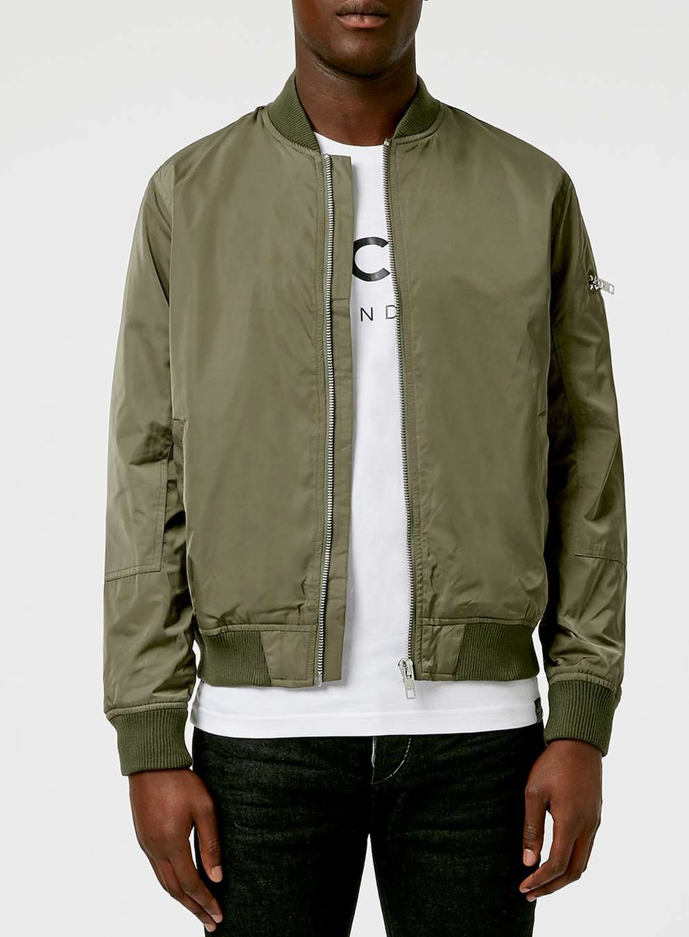 Khaki Bomber Jacket Men S Jackets Coats Clothing Bomber Jacket Bomber Jacket Mens Men S Coats Jackets [ 1350 x 994 Pixel ]
