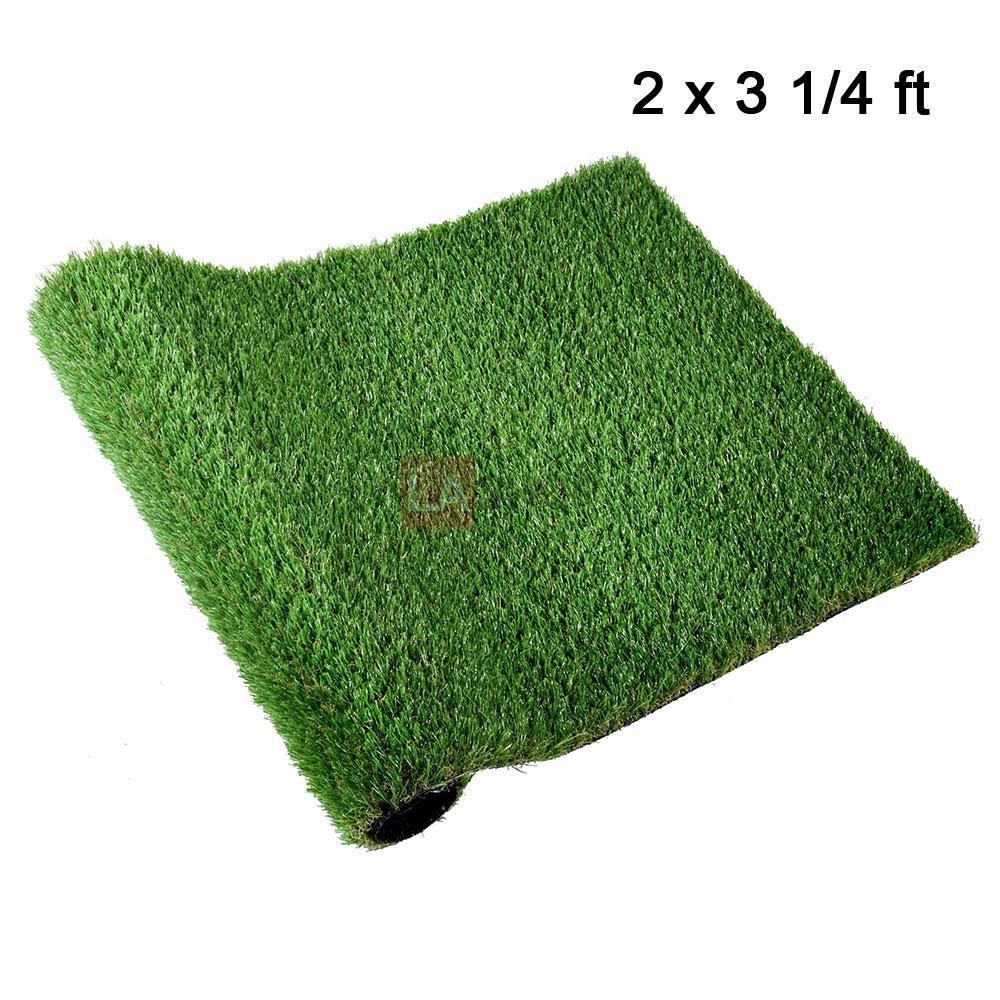 2 X3 3 Artificial Grass Fake Turf Synthetic Pet Turf Roll Pet Turf Artificial Grass Rug Fake Grass