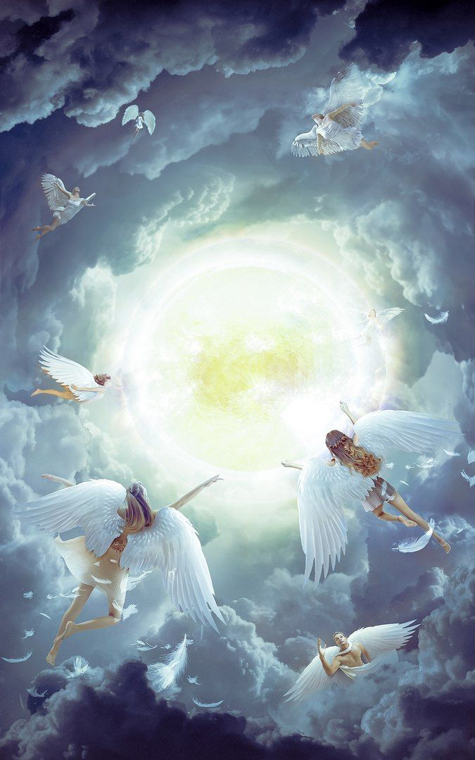 Картинки с ангелом небес