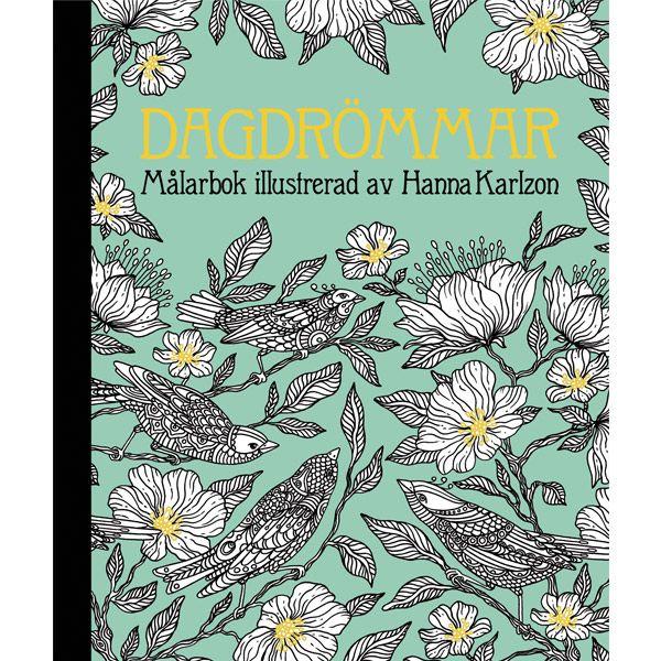 Dagdrommar Coloring Book By Swedish Illustrator Artist Hanna Karlzon