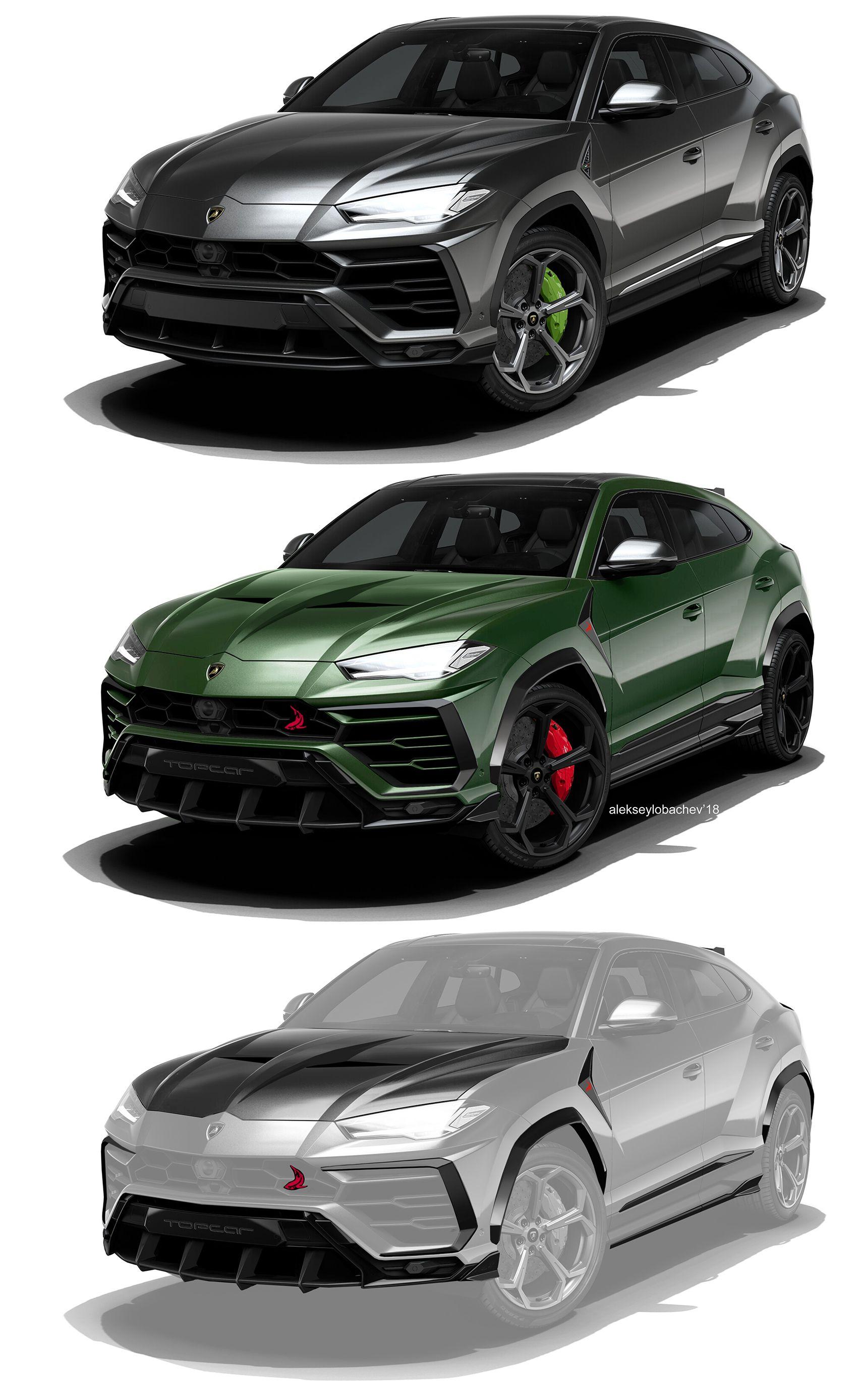 Exceptional Эскизы легкого обвеса на Lamborghini Urus для компании Top Car #lamborghini  #urus #topcar