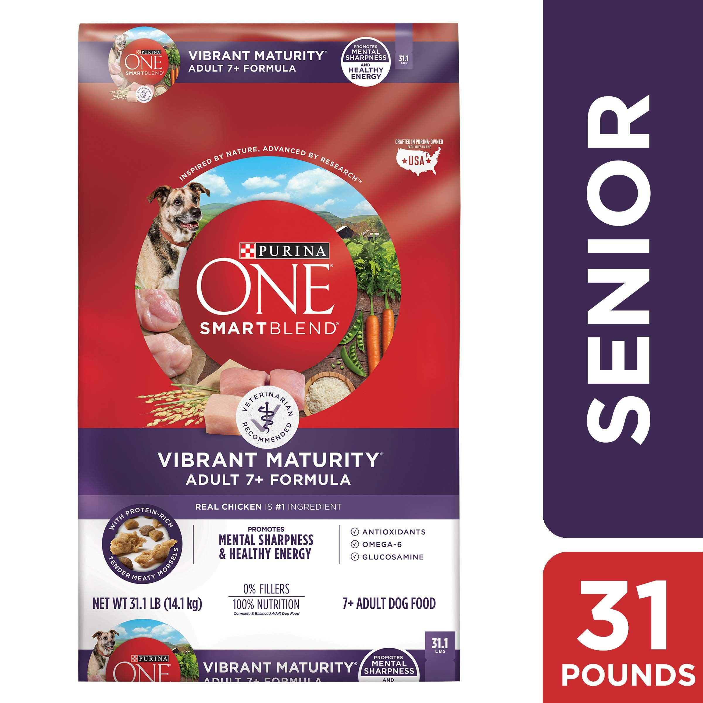 Purina ONE SmartBlend Vibrant Maturity Senior 7+ Formula