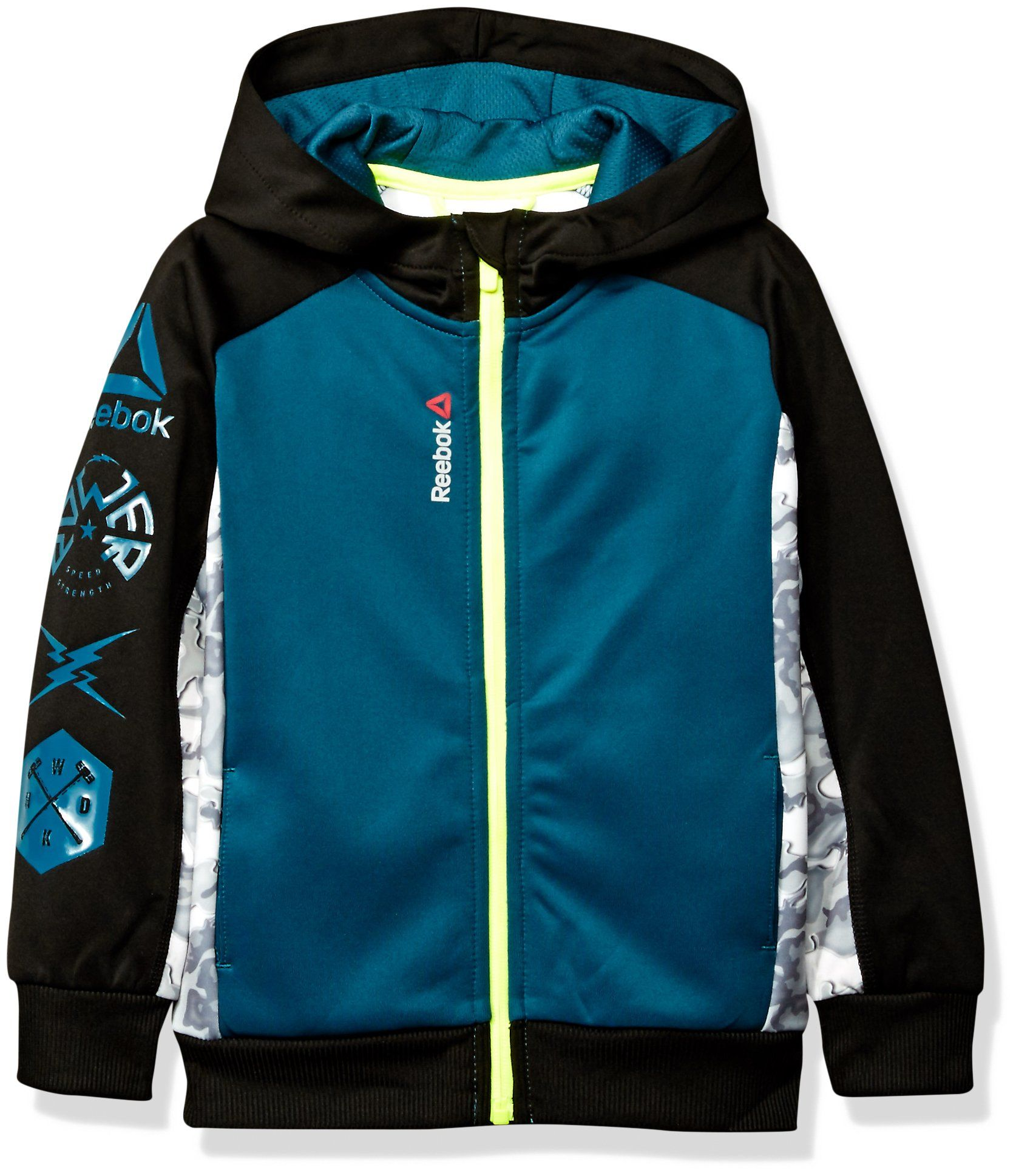 Reebok Little Boys Active Hooded Zip Up Jacket Baltic Blue 4 See This Great Product This Is An Affiliate Kids Winter Jackets Bathing Suit Prints Jackets [ 1939 x 1674 Pixel ]
