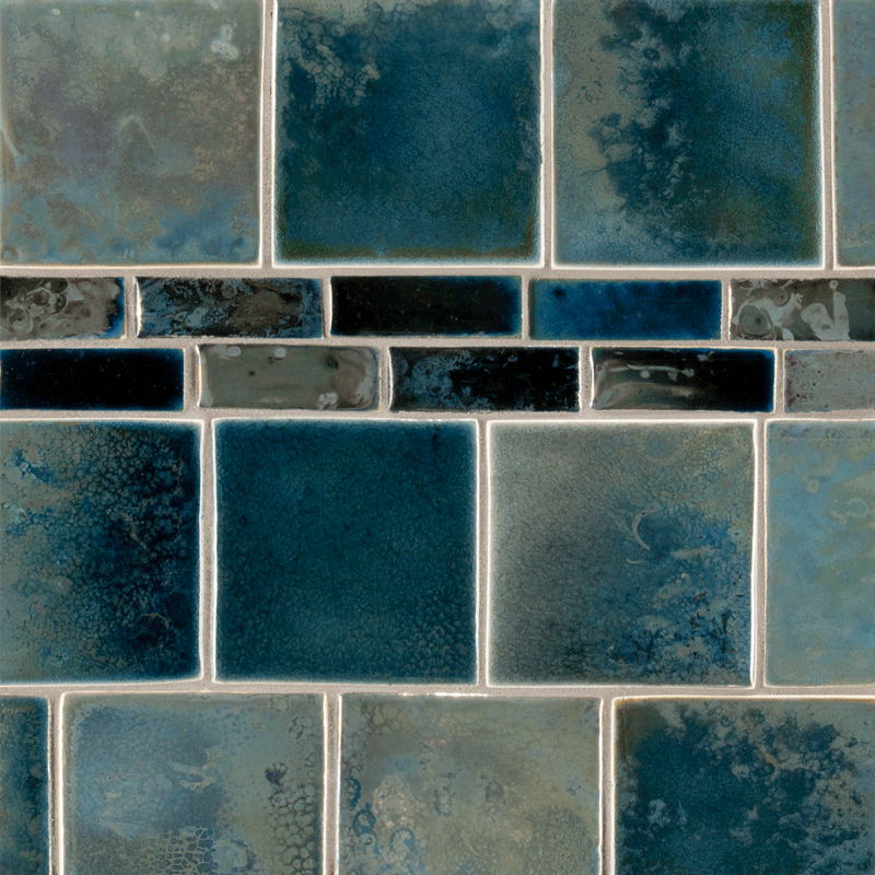 Ceramic Art Tile Fire And Earth Ann Sacks Tile Stone Ann Sacks Tiles Fired Earth Home Design Diy