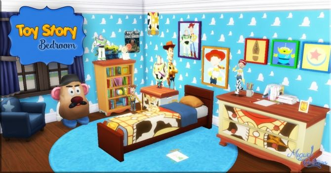 Toy Story Bedroom At Victor Miguel Sims 4 Updates Toy