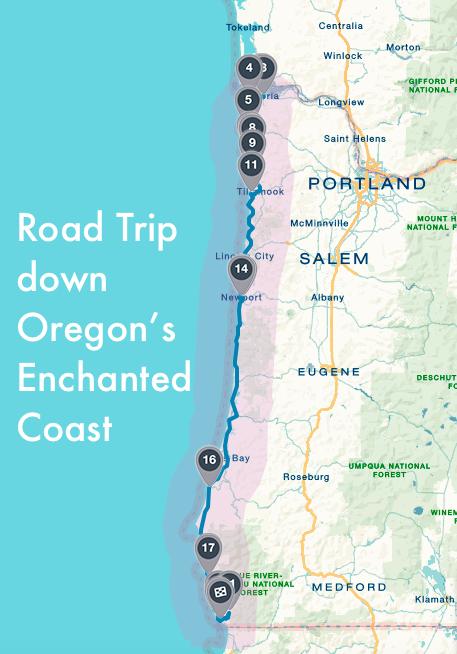 Oregonian Coastal Neverland on Beach Road trips and Oregon coast