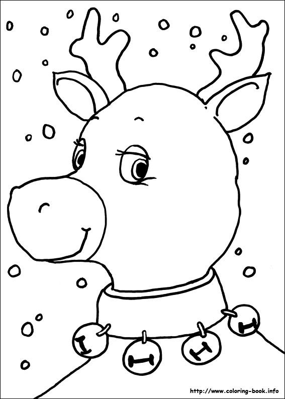 Christmas coloring picture | Printables | Pinterest