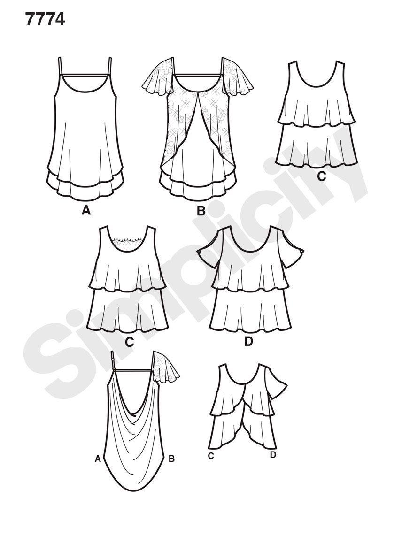 Pin von Daidy M. auf Technische Zeichnung Kleidung | Pinterest ...