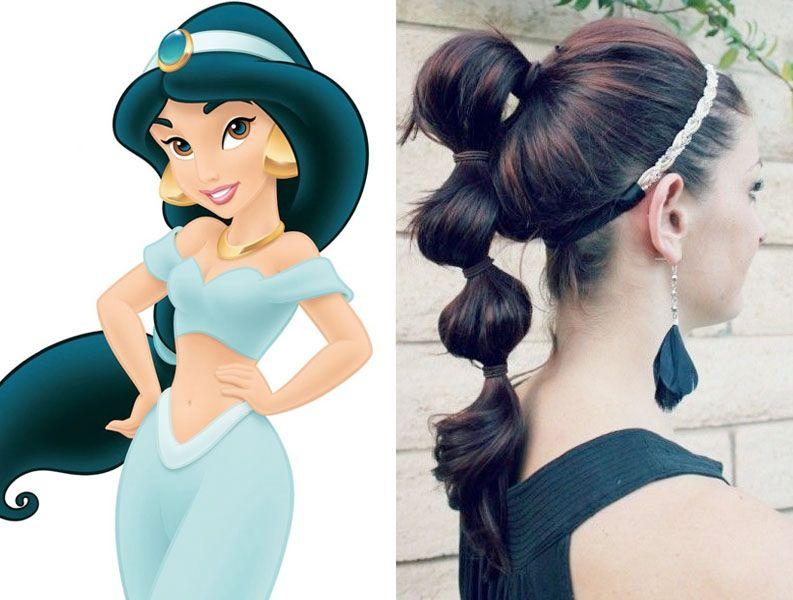 Disney Princess Inspired Hair Ideas Prom Hair Tutorial Princess Inspired Prom Hair Updo