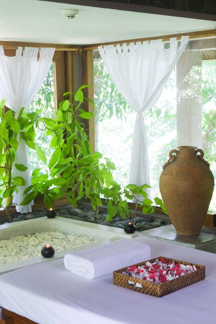 Enjoy meditation, massages, sauna & steam baths, tai chi or yoga ...
