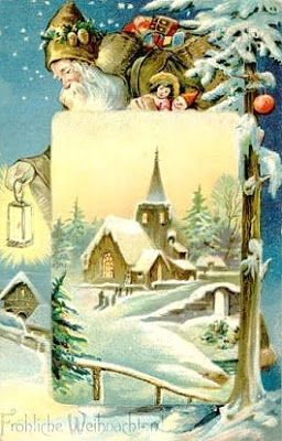 Reflections In The Afternoon: Victorian Christmas Cards