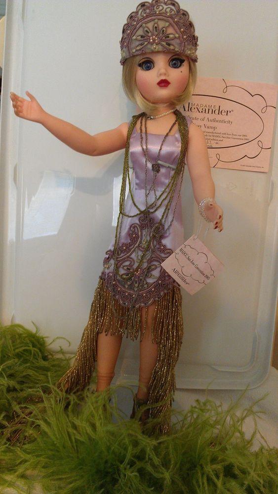 "Madame Alexander Cissy Vamp, 21"" 20's Era flapper style-Mint Condition! #MadameAlexander #Dolls"