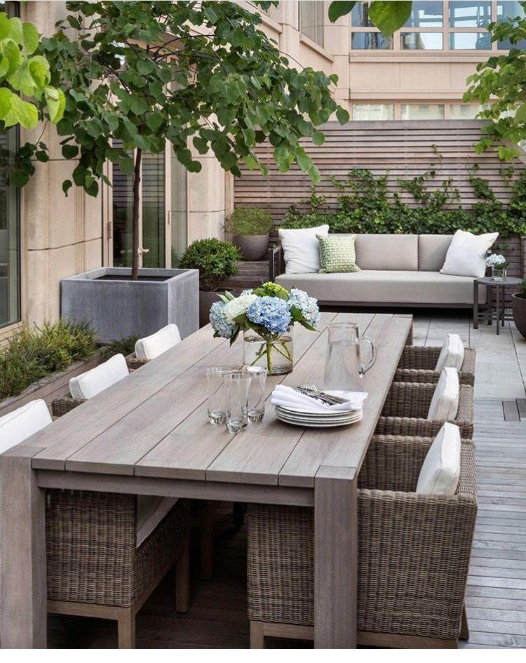 Ideas terraza Garden in 2018 Pinterest Terraza jardin - Decoracion De Terrazas Con Plantas