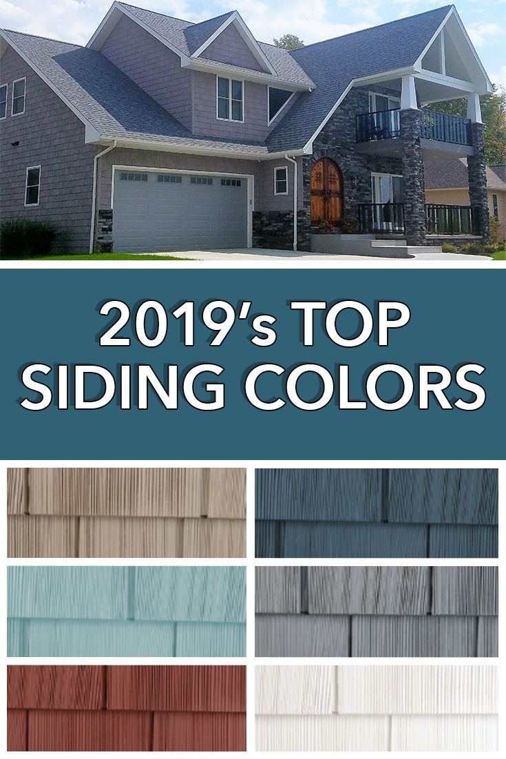 Best Stay On Trend Most Popular Siding Colors For Houses In 400 x 300