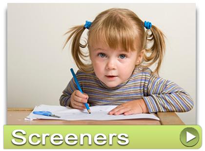 Use the Speech & Language Screeners