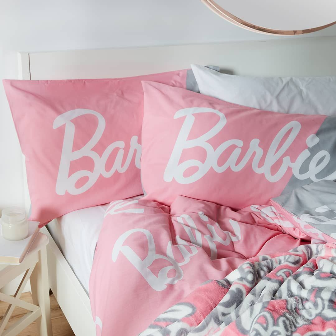 Itus time to live your barbie world dream double duvet set