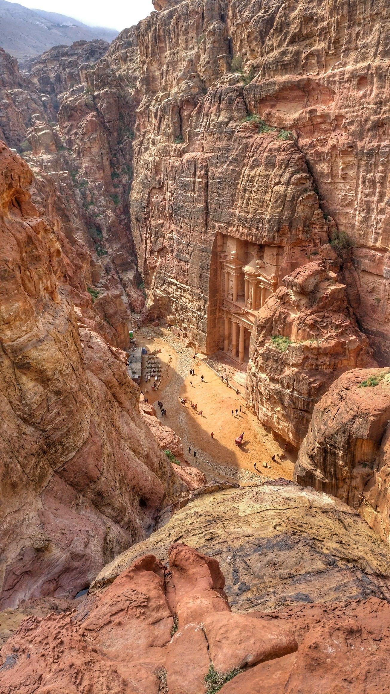 The Treasury - Petra, Jordan #petrajordan
