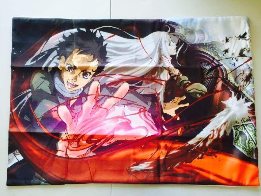 Deadman Wonderland Anime Shiro Ganta Igarashi 20''x30'' Dakimakura Pillow Case