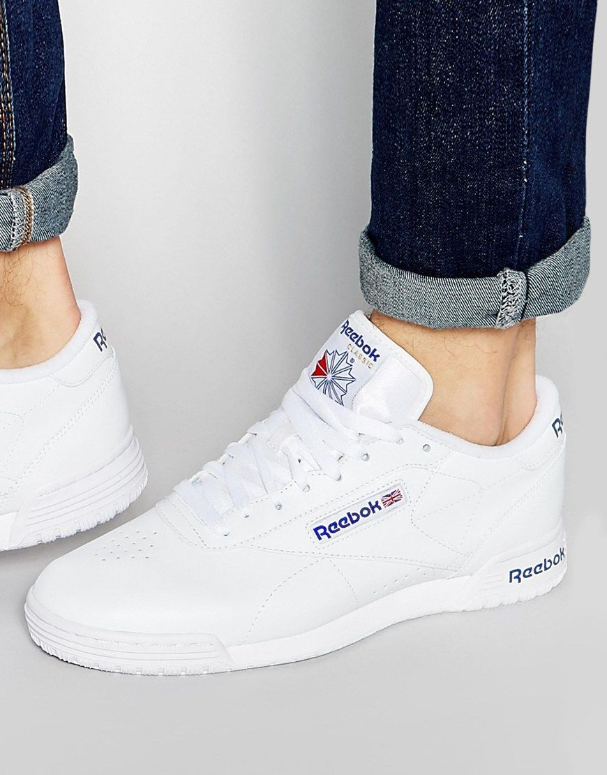 Image 1 of Reebok Exofit Lo Clean Trainers In White R524822