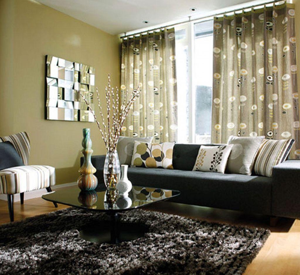 Schreibtisch im kleinen Wohnzimmer am besten home office Möbel Wand ...