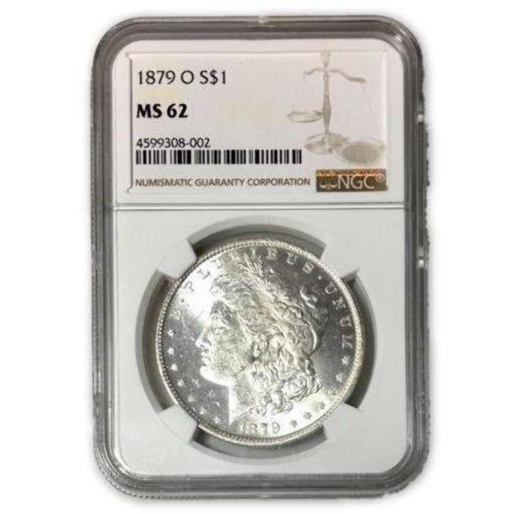 1879 O Morgan Dollar Ngc Ms62 Rev Tye S 8002135 Shopnetone Morgan Dollars Ngc Dollar