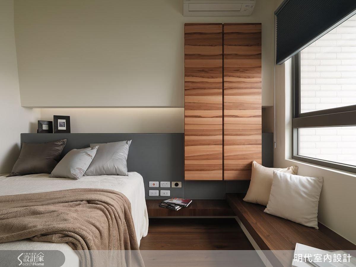 展翼翱翔 剛中帶柔的單身型男部屋 Bedroom Design Home Decor