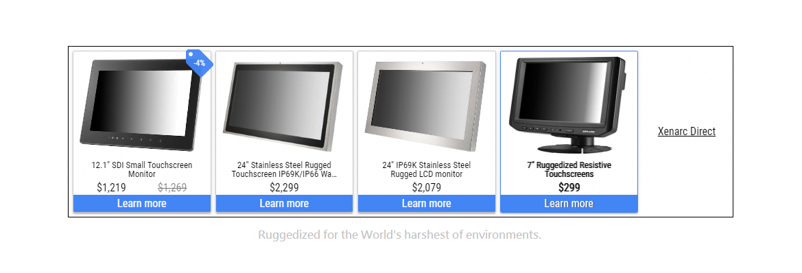 Rugged Touchscreen Lcd Monitor Solutions Manufacturer Xenarc Technologies Www Xenarc Com In 2020 Lcd Monitor Touch Screen Industrial Display