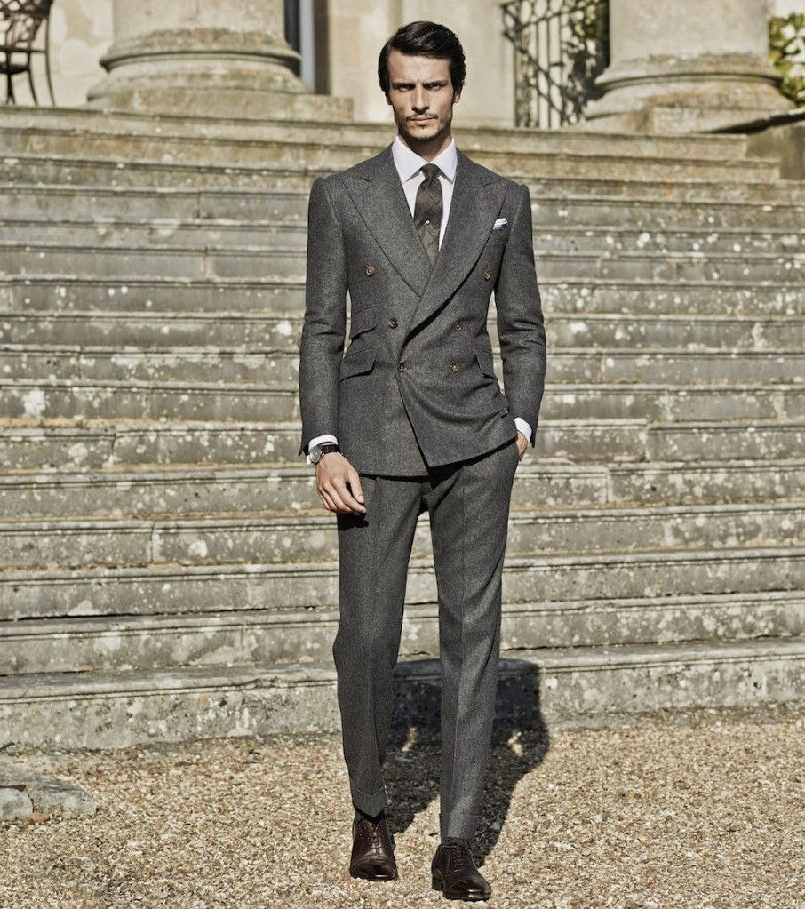 Cifonelli Bespoke Double-Breasted Suit, The Rake magazine ...