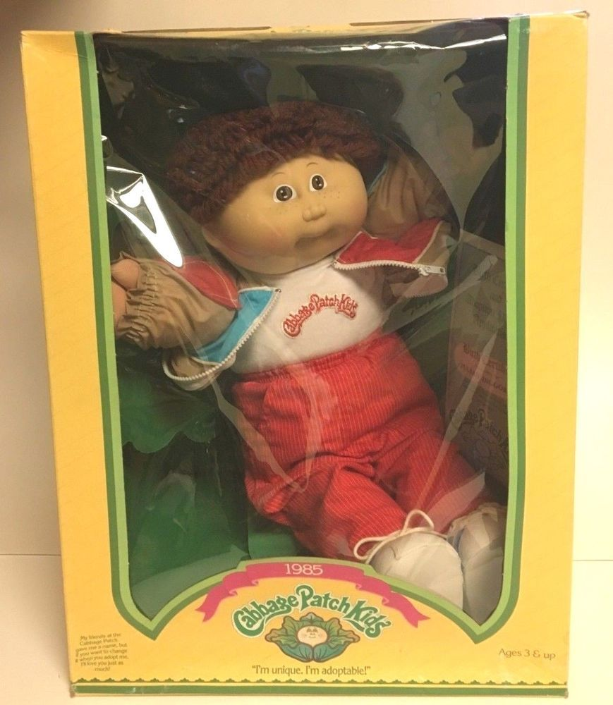 Cabbage Patch Kids Julian Diggory Unique And Adoptable 1985 Nib Ebay Cabbage Patch Kids Dolls Patch Kids Cabbage Patch Kids