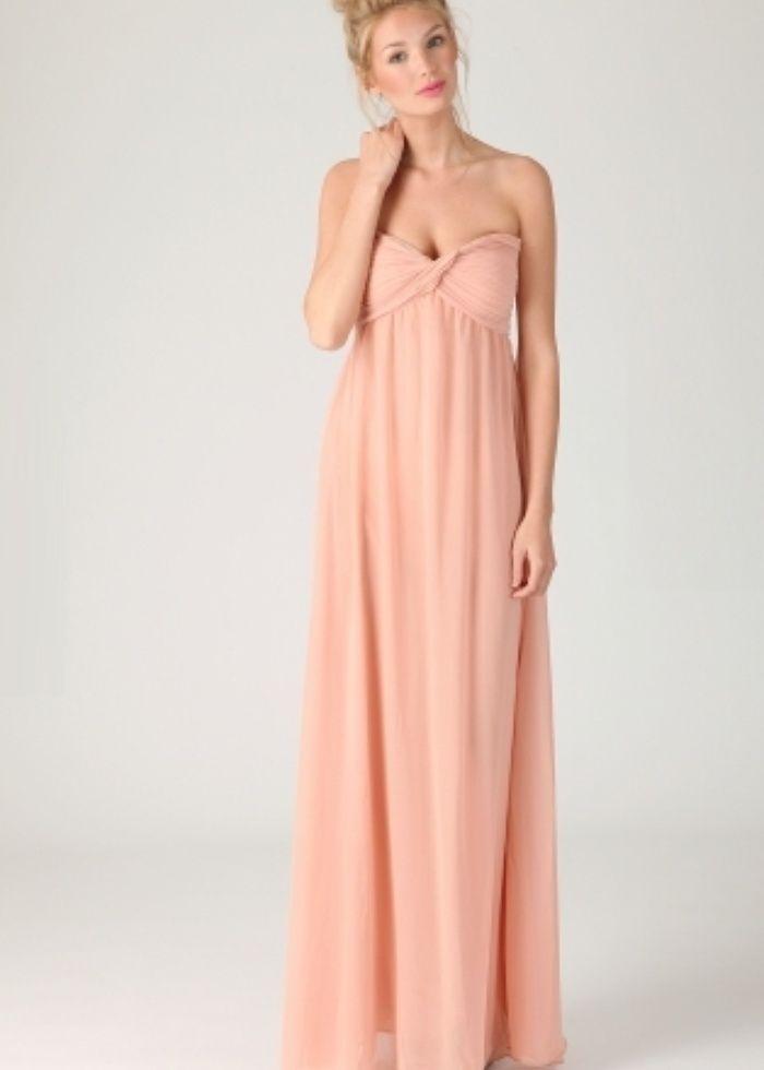 maxi dress | Harriet Gathered Chiffon Look Maxi Dress by Missguided ...