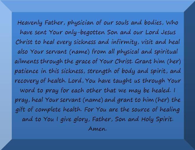 Orthodox prayer for a sick person. | Orthodoxy / Faith | Pinterest