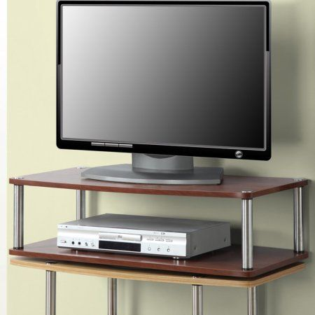 Convenience Concepts Designs2go No Tools Xl Two Tier Swivel For Tvs